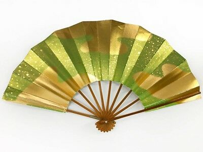 Vintage Japanese Geisha Odori 'Maiogi' Folding Dance Fan from Kyoto: MayG