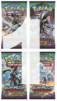 1 x 10-Cards Booster Pack SM2 Sun Moon Guardians Rising English Pokemon