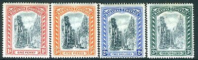 BAHAMAS-1901-03 Set to 3/- Sg 58-61 LIGHTLY MOUNTED MINT V16002