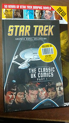 Star Trek Graphic Novel Collection #10 The Classic UK Comics Part 1