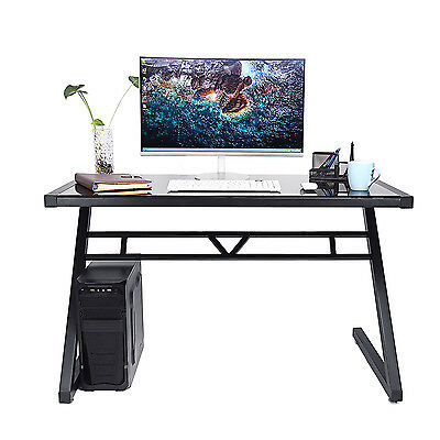 Modern Computer PC Desk Study Table Office Home Furniture Living Room Bedroom UK