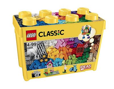 Lego Classic 10698 Large Creative Brick Box BRAND NEW *Ideas Included 790 Pieces