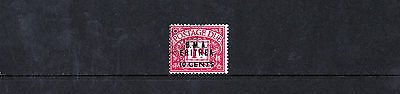 BOIC (Eritrea) - Postage Dues - 1950 B.A. 10c on 1d - Used - SG ED2