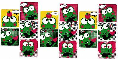 Sanrio KEROPPI the Frog 15 LARGE Stickers!