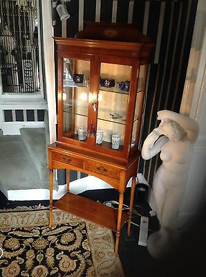 Little Antique Period Display Case On Stand.