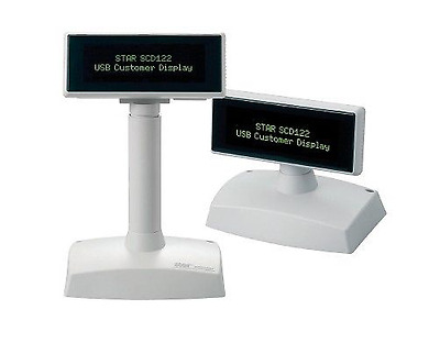Star SCD-122-W USB Customer Display (White), 2 Line x 20 Character (PN:30792010)