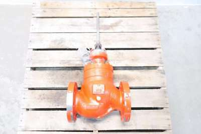 New Copes Vulcan 4 In 300 Steel Flanged Globe Valve D560685