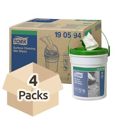 Tork Surface Cleaning Wet Wipes - Case - 4 Packs of 58