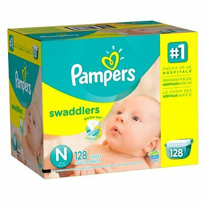 Pampers Swaddlers Diapers Sizes N-6