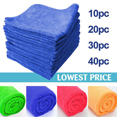 Large Microfibre Cleaning Cloth Towel Car Valeting Polish 300gsm High Quality