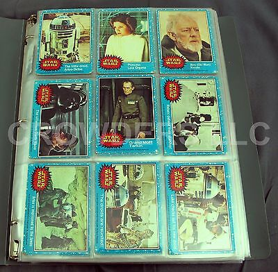 Vintage 1977 Star Wars & 1980 Empire Strikes Back Trading Cards Large Lot 300+
