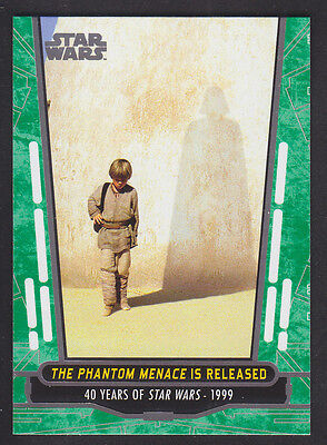 Topps Star Wars - 40th Anniversary - Green Parallel Card # 83