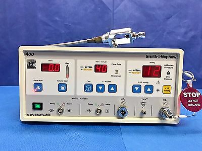 Smith & Nephew 7209931, 400 Insufflator, 40 LPM, w/ Yoke & Hose 6-Month Warranty