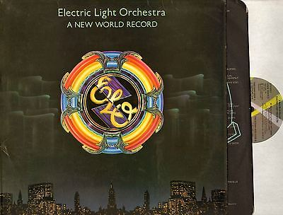 ELECTRIC LIGHT ORCHESTRA (ELO) a new world record (+ inner) LP EX-/VG+ UAG 30017