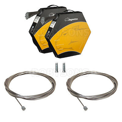JAGWIRE Inner Bike Gear Cable Wire Shimano & Sram Galvanised, Stainless,x1,x2 UK