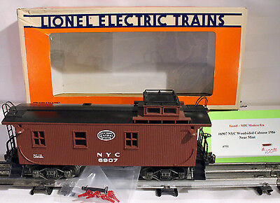 LIONEL #6907 ( NYC) NEW YORK CENTRAL   O Scale Gague Caboose, Lighted, Box