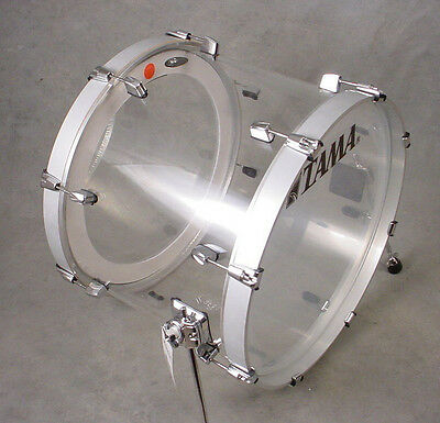 TAMA SILVERSTAR 22x16 MIRAGE CRYSTAL ICE BASS KICK DRUM