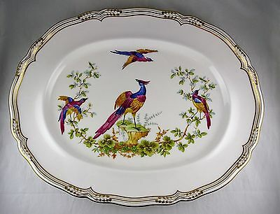 Spode English Fine Bone China Chelsea Bird Oval Platter Y8555-S