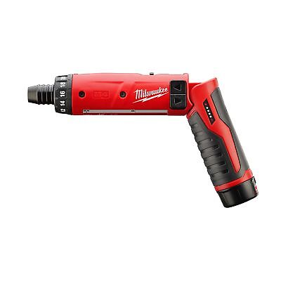 2101-21 Milwaukee M4 1/4 Hex Screwdriver Kit W/1 Bat