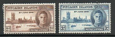 Pitcairn Islands 1946 Victory  MNH