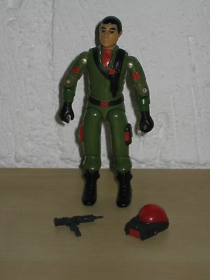 Gi Joe Action Force Steeler Euro Exclusive 100% Complete Hasbro Palitoy Rare Htf