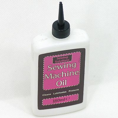 Sewing Solutions Machine & Knitting Machine Oil 150ml Super Fine Quality New