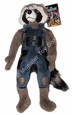 Plush Rocket Raccoon Guardians of the Galaxy Volume 2 Disney Store Authentic NWT