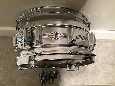 Rogers dyna-sonic snare drum 5 x 14 script logo