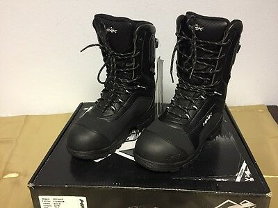 Hmk Voyager Black Lace Up Snow Boots Size 10