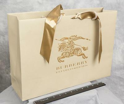 Burberry Authentic Paper Gift Shopping Bag egm