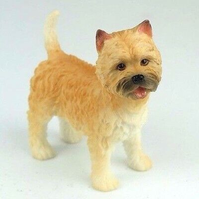 "Cairn Terrier Puppy Dog - Collectible Figurine Miniature 3.75""H New"