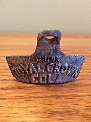 "Vintage Drink - Royal Crown - Cola Starr ""x"" Wall Mount Bottle Opener"