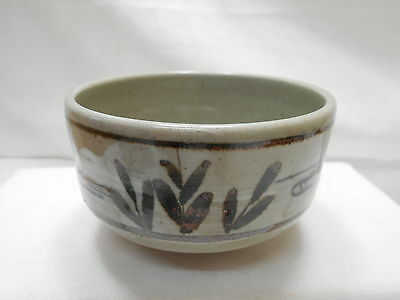 Japanese Tea Ceremony Pottery Bowl Chanoyu Traditional Vintage  #106