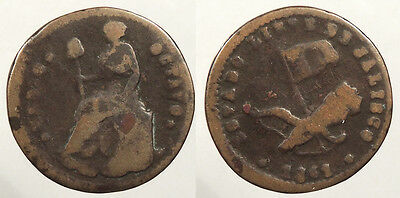 MEXICO Jalisco 1861 1/16 Real (Medio Octavo) About Fine