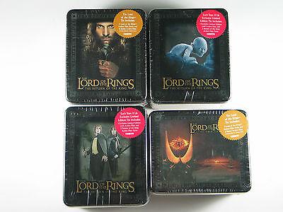 Artbox Lord Of The Rings Rotf Tt Action Flipz Four Tin Assortment Factory Sealed