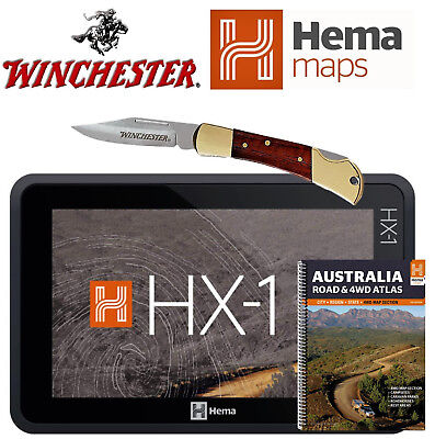HEMA HX1 GPS HX-1.  with free winchester folding knife