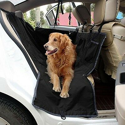 Poppypet Auto Rear Seat Protector Cover, Waterproof Hammock Seat Cover for Car