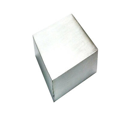 "Stainless Steel Bench Block Jewelers Block Metal Working Anvil 2.5"" Square"