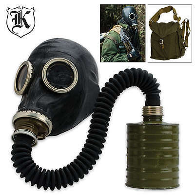 RUSSIAN Military Surplus GAS MASK With Hose - AUSSIE STOCK - FAST Dispatch!