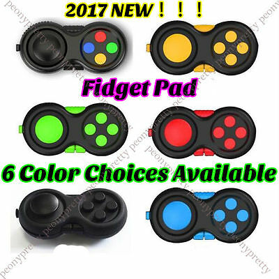 NEW Fidget Hand Shank Pad Handle For Autism ADHD Relieves Stress Focus Desk Toys