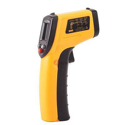 Digital Infrared IR Thermometer Temperature Gun Sensor Measuring Heat Red Laser