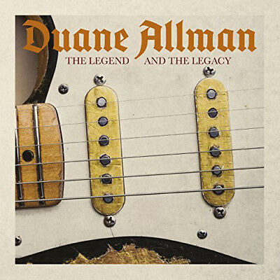 Duane Allman : The Legend and the Legacy CD (2017) ***NEW***