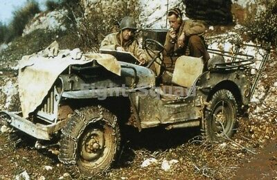 WW2 Picture Photo Africa 1942 Ford GPW radio communications Jeep 1413