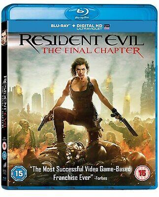 Resident Evil: The Final Chapter (with UltraViolet Copy) [Blu-ray]