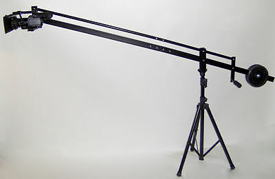8 ft. Video Camera Crane Jib  with STAND, LCD and BAG  New hvx200