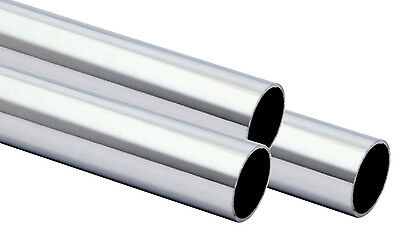 Stainless Steel Tubing Round Tube Hand Rail 33.7 x 2mm Grain 240 Von 100-3000mm