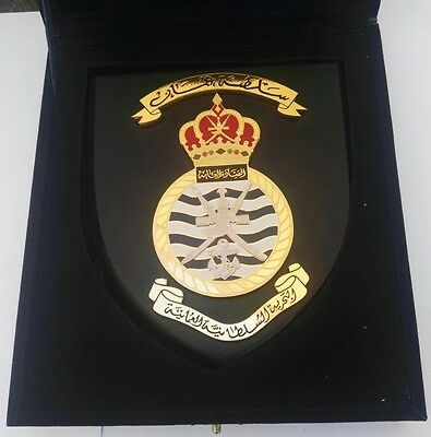 Sultanate of Oman Royal Navy Army Military Badge Medal Plaque Shield / Qaboos