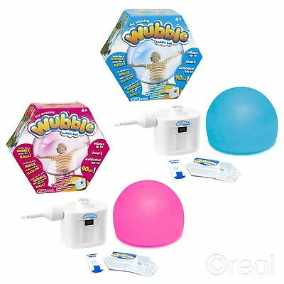 New Pink Or Blue Wubble Bubble Balls With Pump Outdoor Inflatable Official