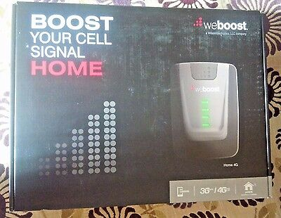 New Sealed WeBoost (Wilson) Home & Office 4G Cell Phone Signal Booster 470101