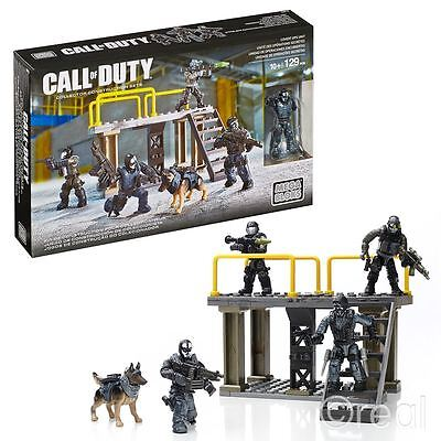 New Call Of Duty Covert Ops Unit Construction Set & Figures COD CNF14 Official